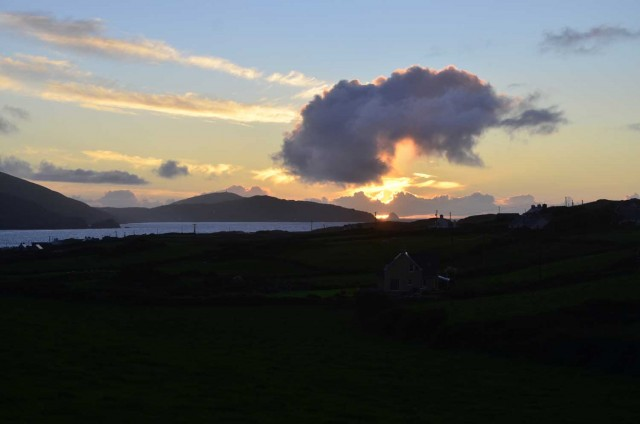 Sunset Over Dursey